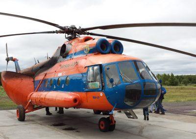 Mil Mi8, Kamtschatka, Russland