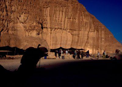 Nomadenzelte in der Wüste, Israel