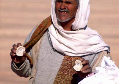 Händler am Straßenrand, Israel