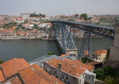 Brücke in Porto, Portugal