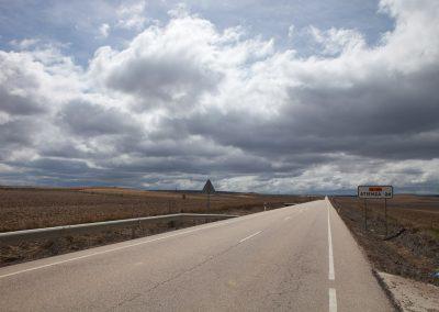 Straße, Rioja, Spanien