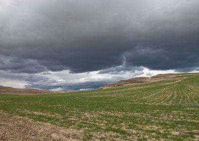 Gewitterstimmung, Rioja, Spanien