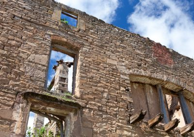 Ruine, Rioja, Spanien
