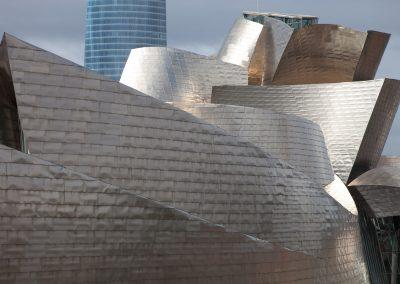 Guggenheimmuseum in Bilbao, Rioja, Spanien