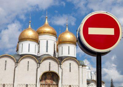 Kirche im Kremel, Moskau