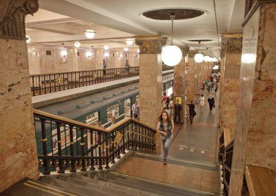 U-Bahn, Moskau