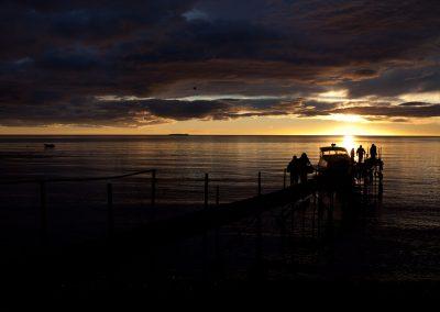Sonnenaufgang im Süden, Chile