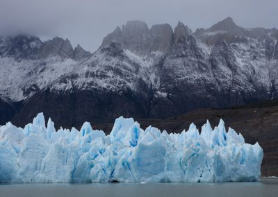 Eis am Lago Grey, Chile