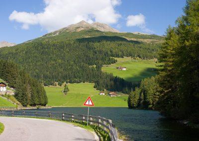 In den Bergen nahe Bozen