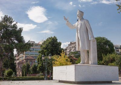 Statue in Thessaloniki, Griechenland