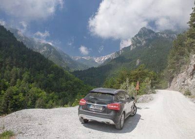 Fahrt in die Berge, Griechenland