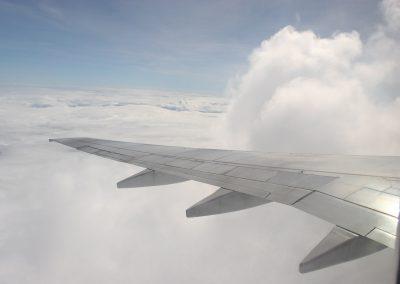 Flug über Costa Rica