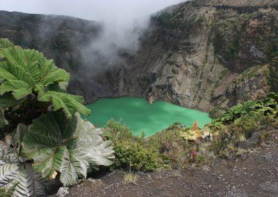 Vulkankrater, Costa Rica