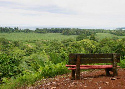 Blick auf die Karibikküste, Costa Rica