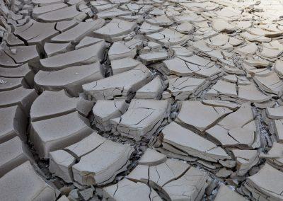 Trockener Boden nahe Lake Mead, USA