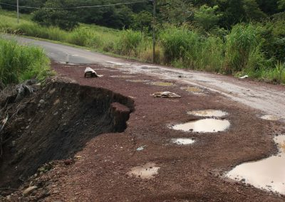 Erdrutsch, Costa Rica
