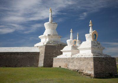 Klostermauer in Karakorum