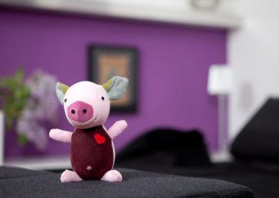 Schweinchen, Studio