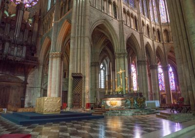 Kathedrale von Reims, Champagne, Frankreich