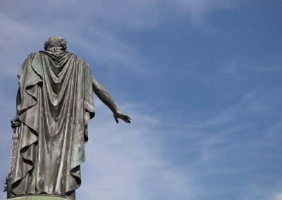 Statue, Reims, Champagne, Frankreich