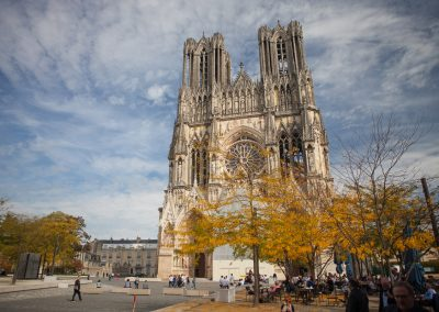 Katedrale von Reims, Champagne, Frankreich