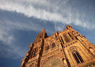 Notre Dame, Strasbourg, Elsass, Frankreich