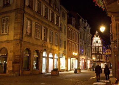 Abendstimmung, Elsass, Frankreich