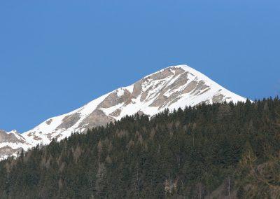Frühjahr mit Schnee am Gipfel, Badgastein