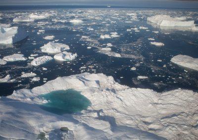 Treibeis, Ilulissat, Grönland
