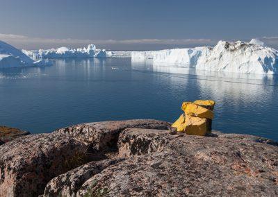 Eisstrom, Ilulissat, Grönland