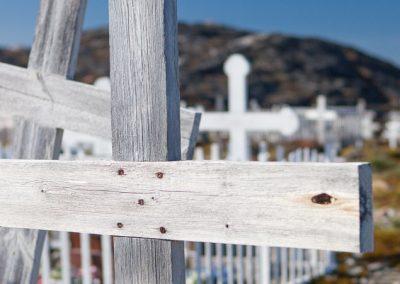 Friedhof, Ilulissat, Grönland