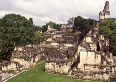 Tempelruine in Tikal, Guatemala