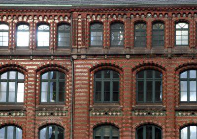 Backsteinbau, Hamburg