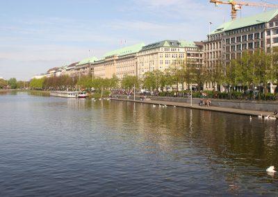 Binnenalster, Zentrum, Hamburg