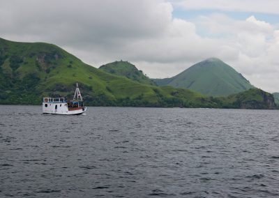 Boot, Komodo, Indonesien