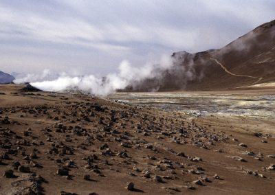 Vulkanische Aktivität, Island