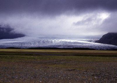 Gletscherzunge des Vatnajökull, Island
