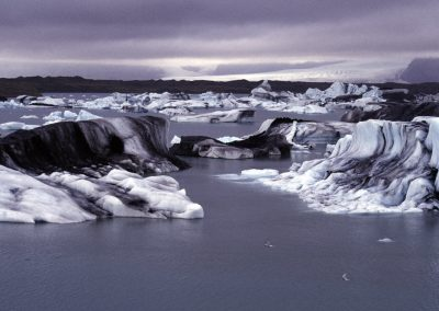 Eisberge, Island