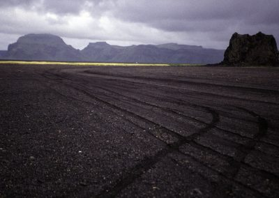 Vulkan-Strand, Island