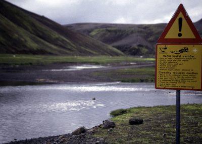 Straßen in der Inselmitte, Island