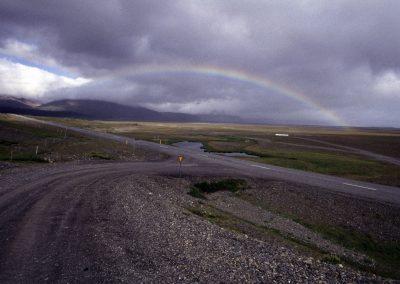 Regenbogen, Island