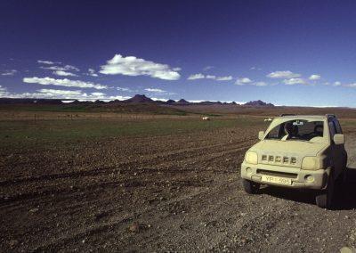 Schmutziges Auto, Island