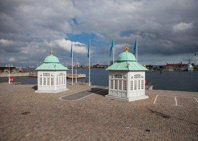 Anlegesteg, Kopenhagen, Dänemark