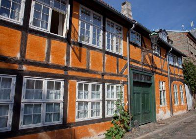 Häuserfront, Kopenhagen, Dänemark