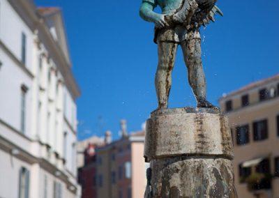 Skulptur, Rovinj, Kroatien