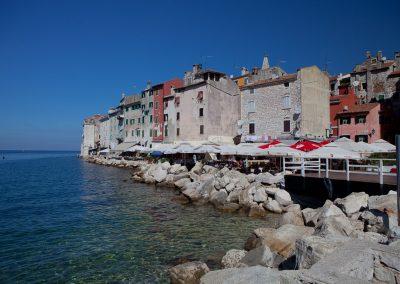 Uferfront, Rovinj, Kroatien