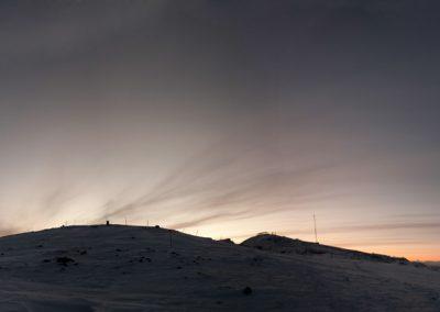 Anhöhe bei Kiruna, Schweden