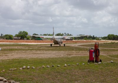 Flugplatz, Mafia Island, Tansania