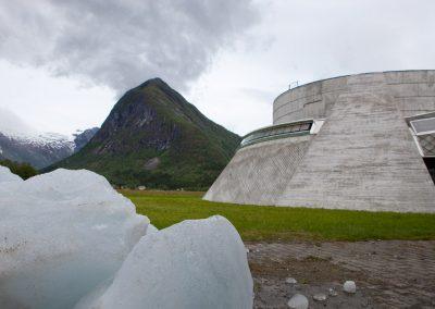 Gletschermuseum in Fjarland, Norwegen