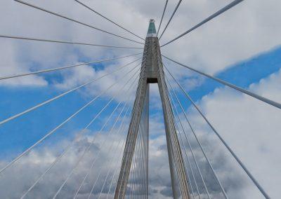 Brücke am Weg nach Norwegen